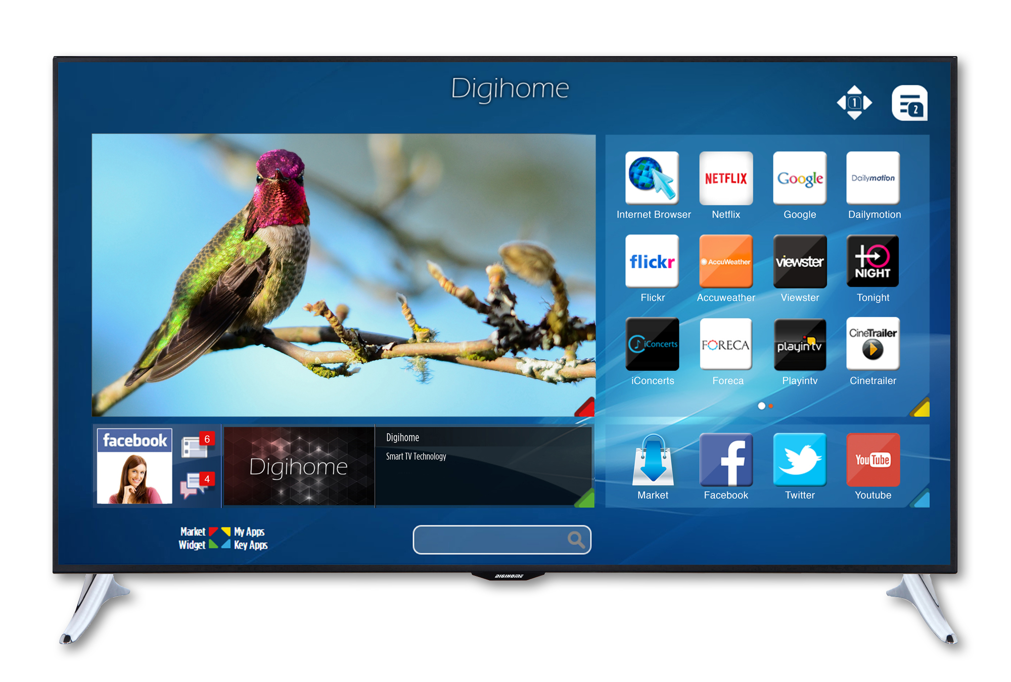 Smart TV Digihome Bird